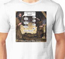 Lesser known Bible Stories - Naming Jesus Unisex T-Shirt