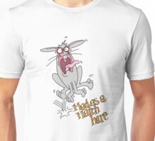 Mad as a March Hare. Unisex T-Shirt