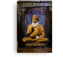 Banksy - Bashed Buddha Canvas Print