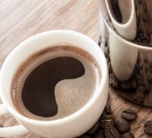 Coffee and coffee pot Sticker