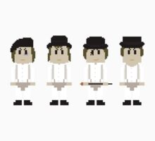 8-Bit A Clockwork Orange Kids Clothes