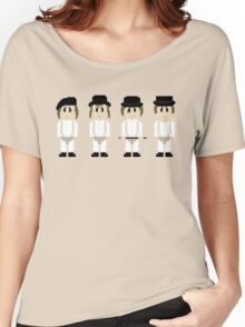 8-Bit A Clockwork Orange Women's Relaxed Fit T-Shirt