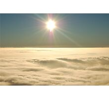 Flying at 3000 Ft Photographic Print