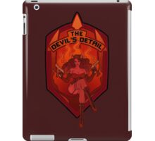 The Devil's Detail iPad Case/Skin