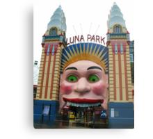 Luna Park, Sydney Metal Print