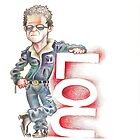 Lou Reed by Florent  Chavouet