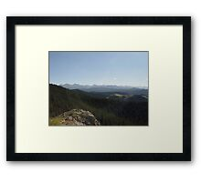 Yellowstone Forever Framed Print