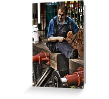 Signal Man Greeting Card