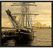 old sydney town Photographic Print