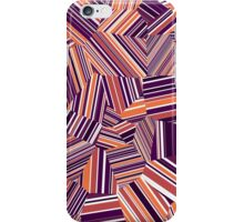 Berry Offcuts - Voronoi Stripes iPhone Case/Skin