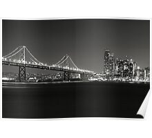 San Francisco Bay Bridge Poster