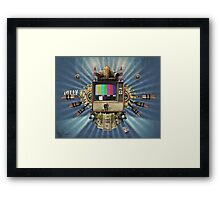 The Television Will Not Be Revolutionised! Framed Print