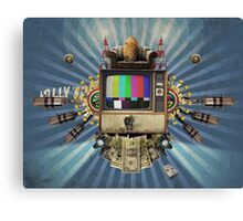The Television Will Not Be Revolutionised! Canvas Print