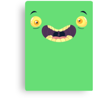 Monster Mugs - Cray Cray Canvas Print