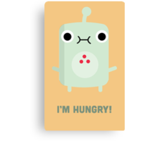 Little Monster - I'm Hungry! Canvas Print