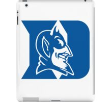 duke blue devils iPad Case/Skin