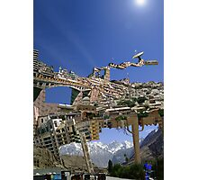 Pakistan Spacebus Docking Station at Khost Cloud City Photographic Print