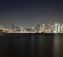 San Francisco Holiday Skyline by Jenn Ramirez