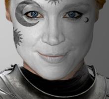 Brienne of Tarth House War Paint Sticker