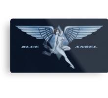 Blue Angel Pinup Metal Print