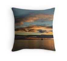 Sunrise - Port Stephens, NSW Throw Pillow