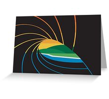 The Pit | Wave Art Greeting Card