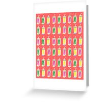 Supercharge Smoothie Greeting Card