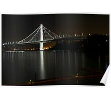 New San Francisco Bay Bridge Poster
