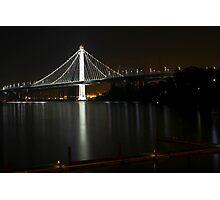 New San Francisco Bay Bridge Photographic Print