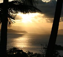 Hamilton Island sunset 4 by Joe Cook