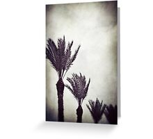Trouble in Paradise Greeting Card