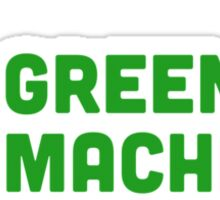 Green Machine Sticker