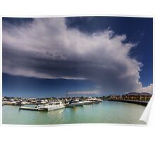 Cloud over Calypso Bay - Qld Australia Poster