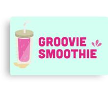 Groovie Smoothie Canvas Print