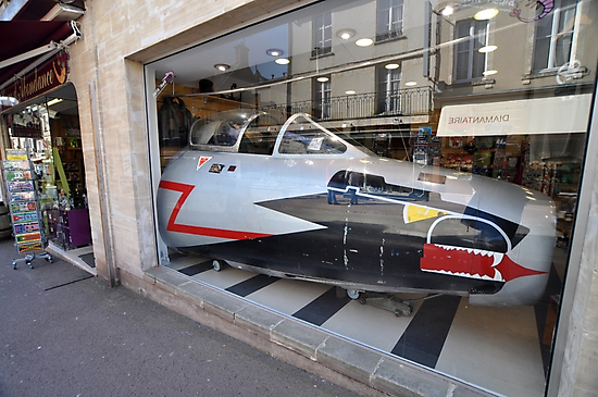 Jet Fighter Nose, Bayeux, France 2012 by muz2142