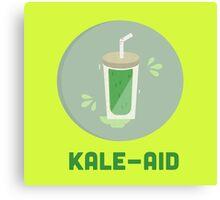 Kale Aid Canvas Print