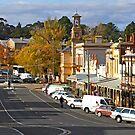 Ford Street - Beechworth by Darren Stones