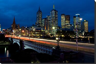 Melbourne Rush Hour by Chris Putnam