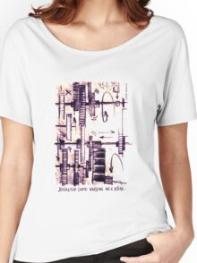 Biological clock: working on a jetlag Women's Relaxed Fit T-Shirt