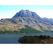 Slioch, North-west Scotland Photographic Print