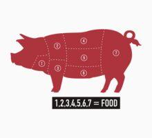 Pork is food Kids Clothes