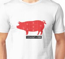 Pork is food Unisex T-Shirt