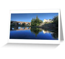 Richmond Bridge, Tasmania Greeting Card