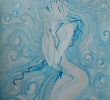 Perla 'Watercolour Ladies' The Sea Hath Its Pearls © Patricia Vannucci 2007 by PERUGINA