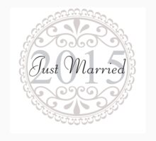 Just Married - Wedding, Married, Love, Marriage, Down the Aisle, Something Blue Baby Tee