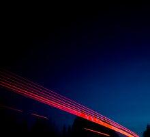 Night Driving I by Luke Tennant