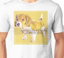 Happiness is a Warm Puppy Unisex T-Shirt
