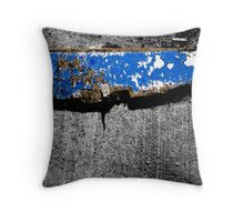 Glass on Wood Throw Pillow