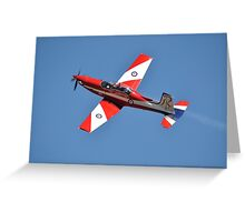 Roulette '60' climb-out, Albion Park Airshow 2012 Greeting Card