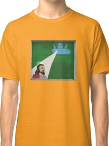 Beaming down Jesus Classic T-Shirt
